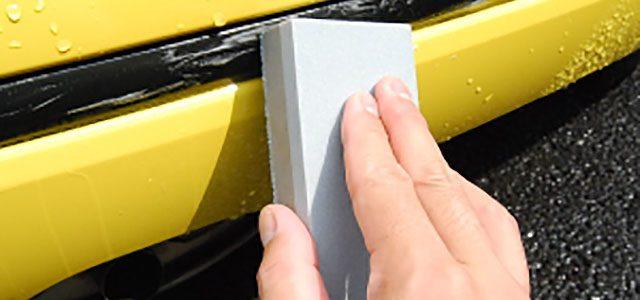 Rubbing Strips Clean